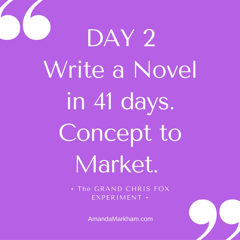 Day 2: Write to Market