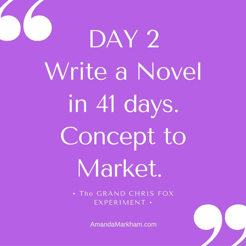 Day 2: Write to Market