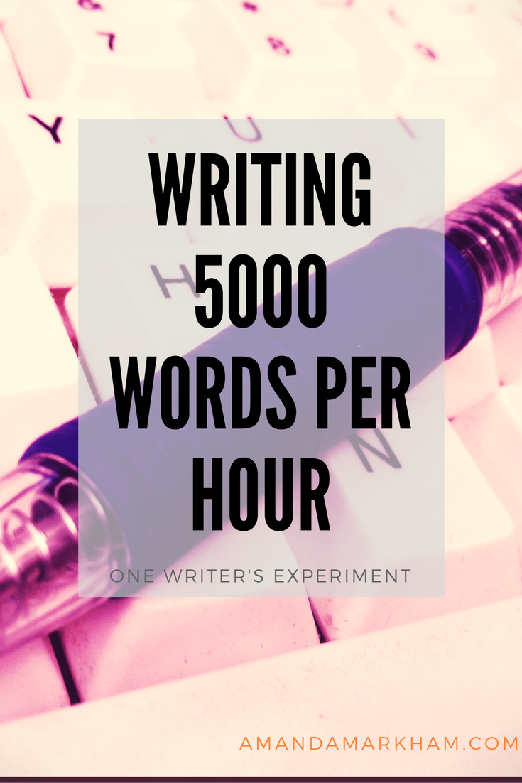Writing at Light Speed: Chris Fox 5000 Words Per Hour Experience